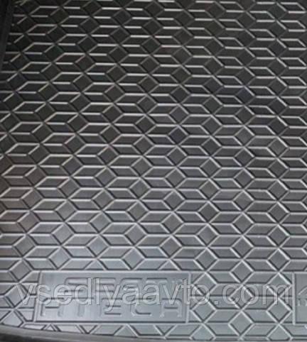 Коврик в багажник Seat Ateca 4WD (Avto-Gumm) пластик+резина