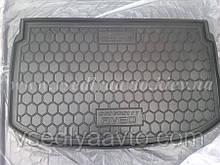 Коврик в багажник CHEVROLET Aveo с 2012 хетчбэк (AVTO-GUMM) пластик+резина