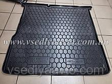 Коврик в багажник CHEVROLET Aveo с 2012 седан (AVTO-GUMM) пластик+резина