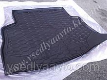 Коврик в багажник NISSAN Leaf (Avto-gumm) пластик+резина