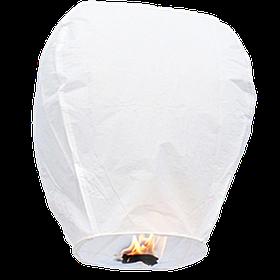 Небесні ліхтарики купола, висота ліхтарика: 85 см., колір: білий