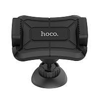 Тримач автомобільний Hoco CA43 Travel spirit push-type dashboard in-car holder Black