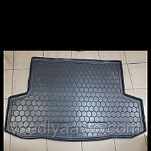 Коврик в багажник CHEVROLET Aveo с 2006-2012 гг. седан (AVTO-GUMM) пластик+резина