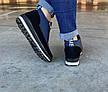 Ботинки женские зимние синие на молнию, фото 5