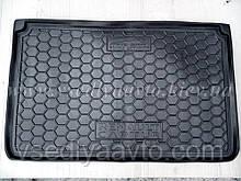 Килимок в багажник RENAULT Captur верхня полиця (Avto-gumm, Україна) пластік+гума
