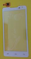 Оригинальный тачскрин / сенсор (сенсорное стекло) для Prestigio MultiPhone 5044 Duo (белый цвет)