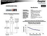 Батарейки Energizer AAAA LR61/E96/LR8D425 /1.5V АААА 500ма, фото 3