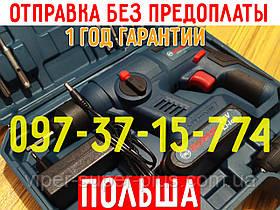 Аккумуляторный перфоратор Boshun BS6020-C021 Li   2 аккумулятора, кейс   ПОЛЬША