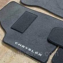 Водительский коврик ворсовый для Chrysler 300M (1998-2004)