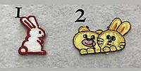 Нашивки на одежду днтские тканевые клеевые детские термо нашивки