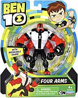 Фигурка Бен 10 Перезагрузка - Четырехрукий (Улучшенный) - Four Arms -Ben 10, фото 1