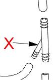 Y90S (147920800) З'єднувальний елемент(на 3 трубки, металічний), хомут-хомут-хомут, фото 2
