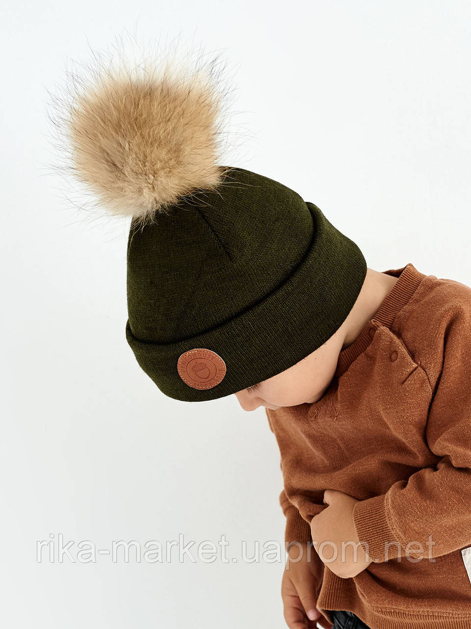 Зимняя шапка для  мальчика, Дембохаус,  арт.Богота от 1,5 до 6 лет