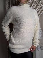 Гольф  женский белый травка, фото 1