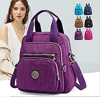 Женский молодежный городской рюкзак-сумка с множеством отделений Yunica, 6 цветов