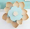 Вращающаяся складная двухъярусная конфетница SUNROZ Flower Candy Box, фото 2