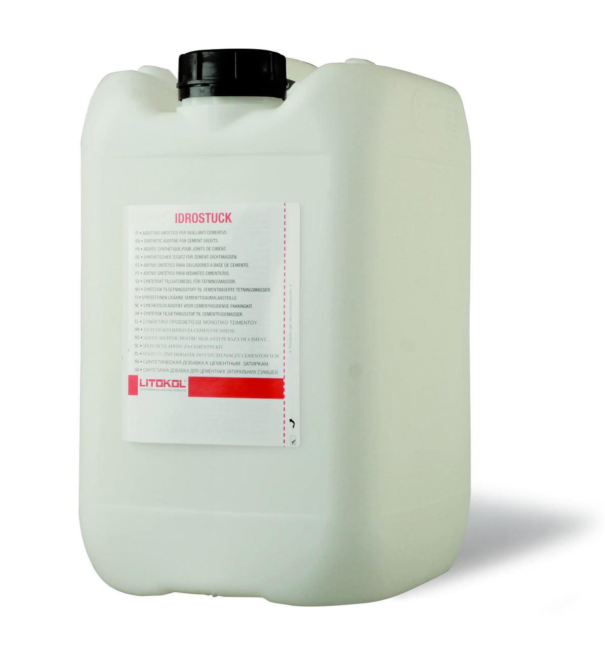 Латексна добавка для цементних затирочних сумішей IDROSTUK, 5 кг