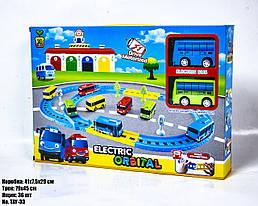 """Автотрек детский с автобусами игрушечный """"Автобусная станция"""" TAY-33"""
