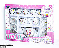 Набор детской посудки 868-G39 (белый, для чаепития)