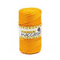 Трикотажный полипропиленовый шнур PP Macrame XL 4 mm, цвет Оранжевый