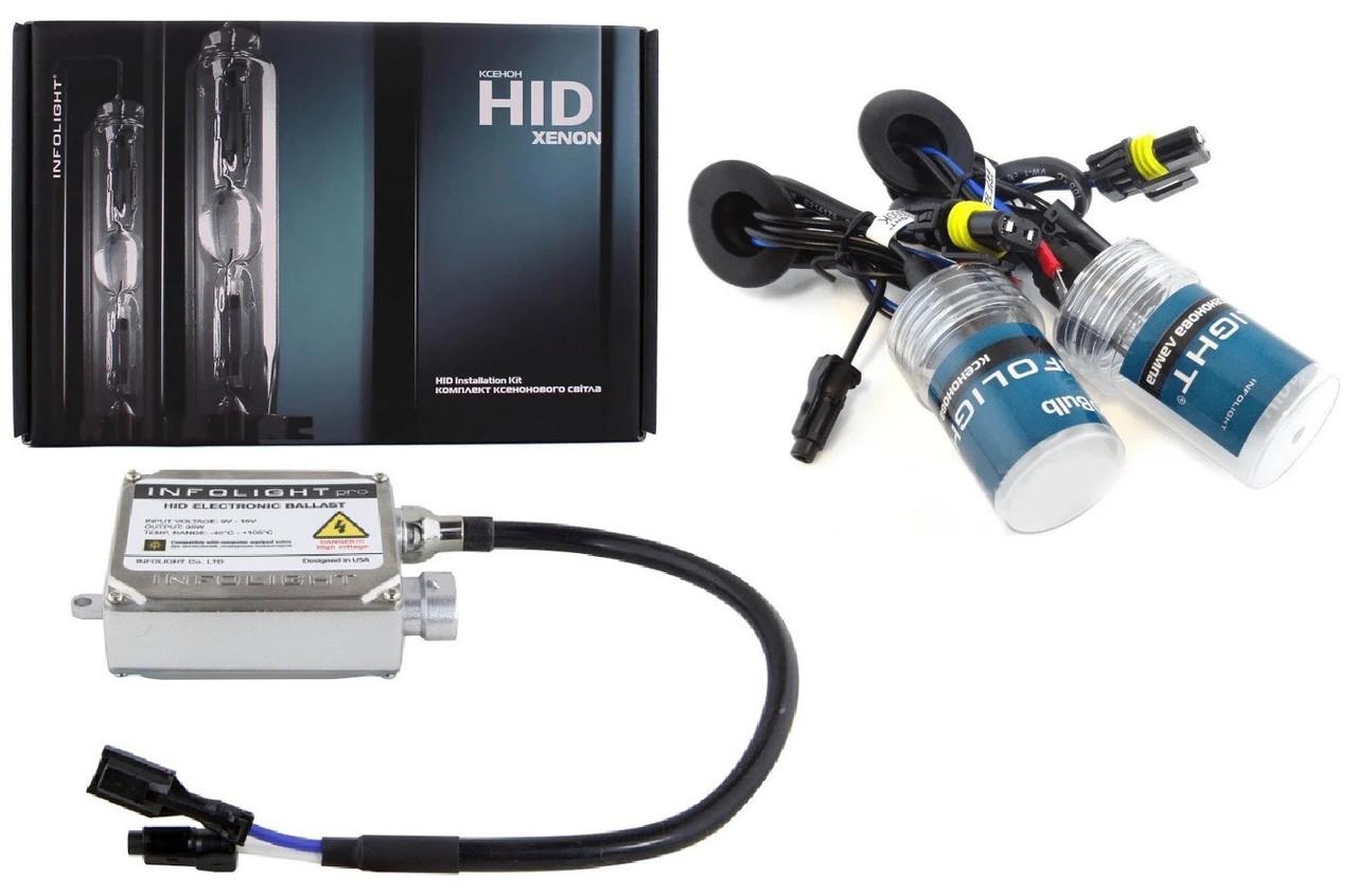 Комплект ксенона Infolight PRO H27 4300K 35W CANBUS (P101093)