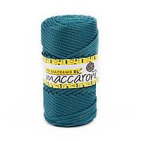 Трикотажный полипропиленовый шнур PP Macrame XL 4 mm, цвет Морская волна