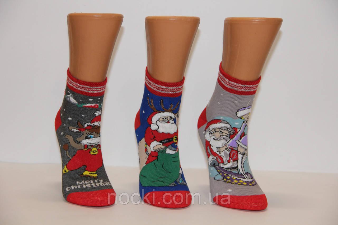 Дитячі шкарпетки махрові новорічні MONTEBELLO Б/Р 5
