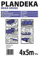 Тенты полипропиленовые Tenexim Plandeka Mega Gruba 260 г/м2, размеры в ассортименте, фото 1