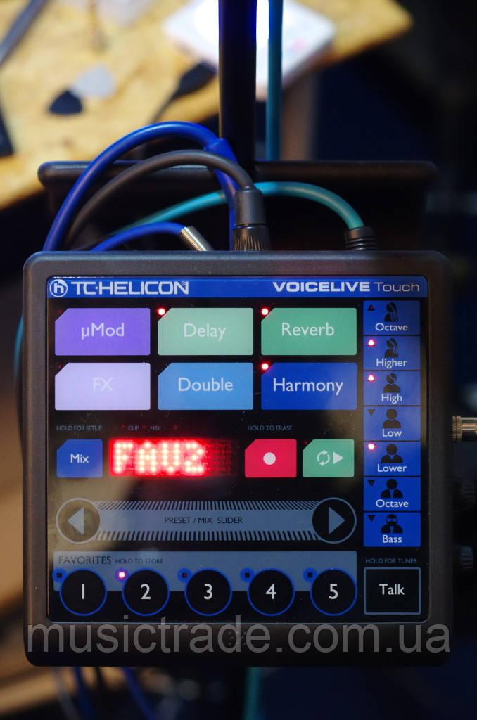 Процессор эффектов TC Helicon VoiceLive Touch