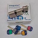 Цилиндр замка Mul-t-lock Integrator ключ/поворотник никель сатин 81 мм, фото 10