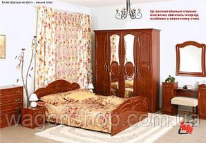 Спальня Глория ЛАК (с 4х дверным шкафом) БМФ