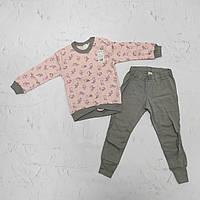 Детская пижама для девочки, р. 92 (трикотаж бейка)