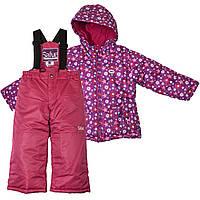 Куртка, полукомбинезон Gusti Salve 4900SWG темно-фиолетовый Размеры на рост 92, 98 см