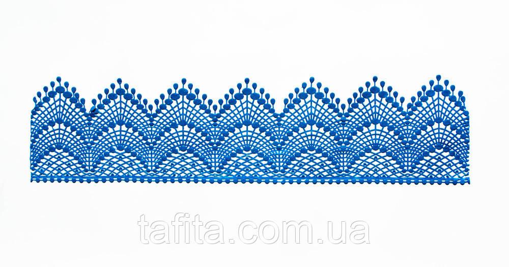 Сьедобное кружево синее №1