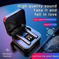 Беспроводные Bluetooth стерео наушники Redmi AirdotsMi Air 2 SE Pro с LCD дисплеем с боксом для зарядки
