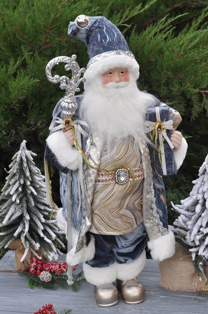 """Фигурка """"Санта с посохом"""", 60 см"""