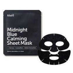 Заспокійлива тканинна маска з охолоджуючим дією Dear Klairs Midnight Blue Calming Sheet Mask
