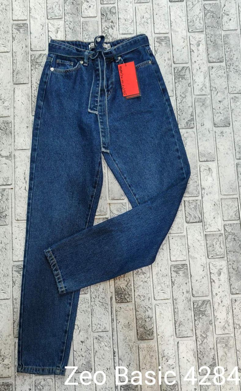 Красивые джинсы с джинсовым поясом Zeo Basic 4284 (34-40)