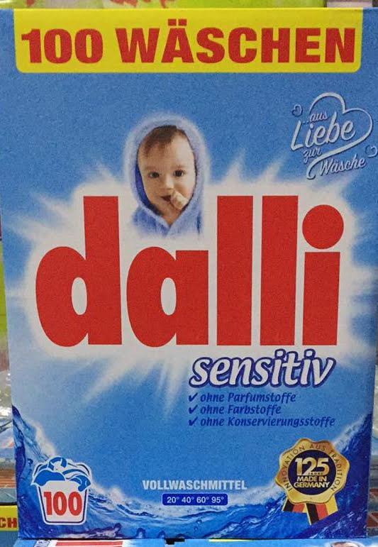Пральний порошок Dalli sensitiv 6,5/100стирок ОПТ