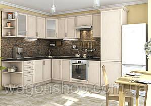 "Кутова кухня ""Контур 2100 x 3000"" Garant"
