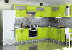 """Кутова кухня """"Гламур 2800 x 2100"""" Garant"""