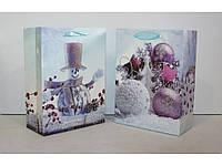 Пакет новогодний 18-24-8,5 см 5023-6