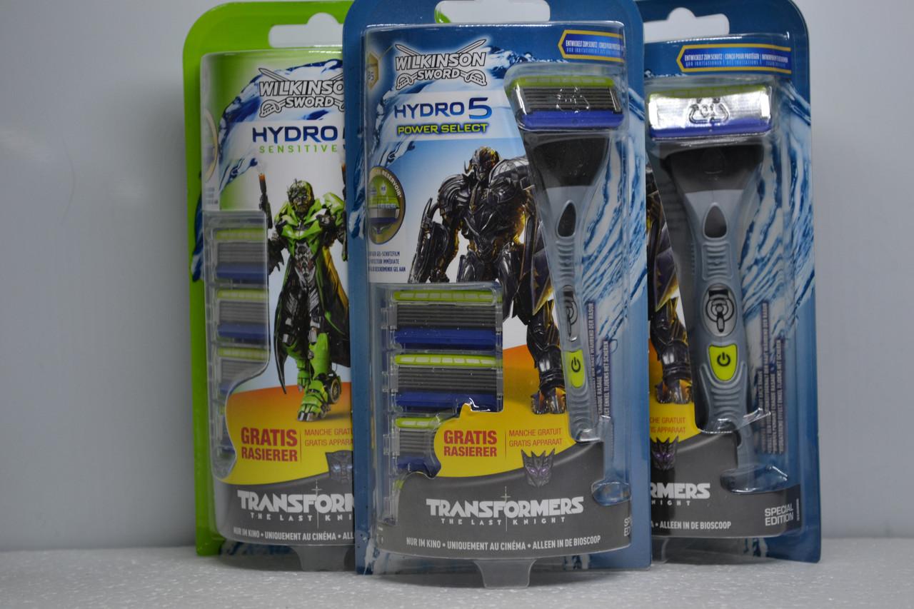 Станок для гоління Wilkinson Hydro5 Power Select + 4 змінні касети