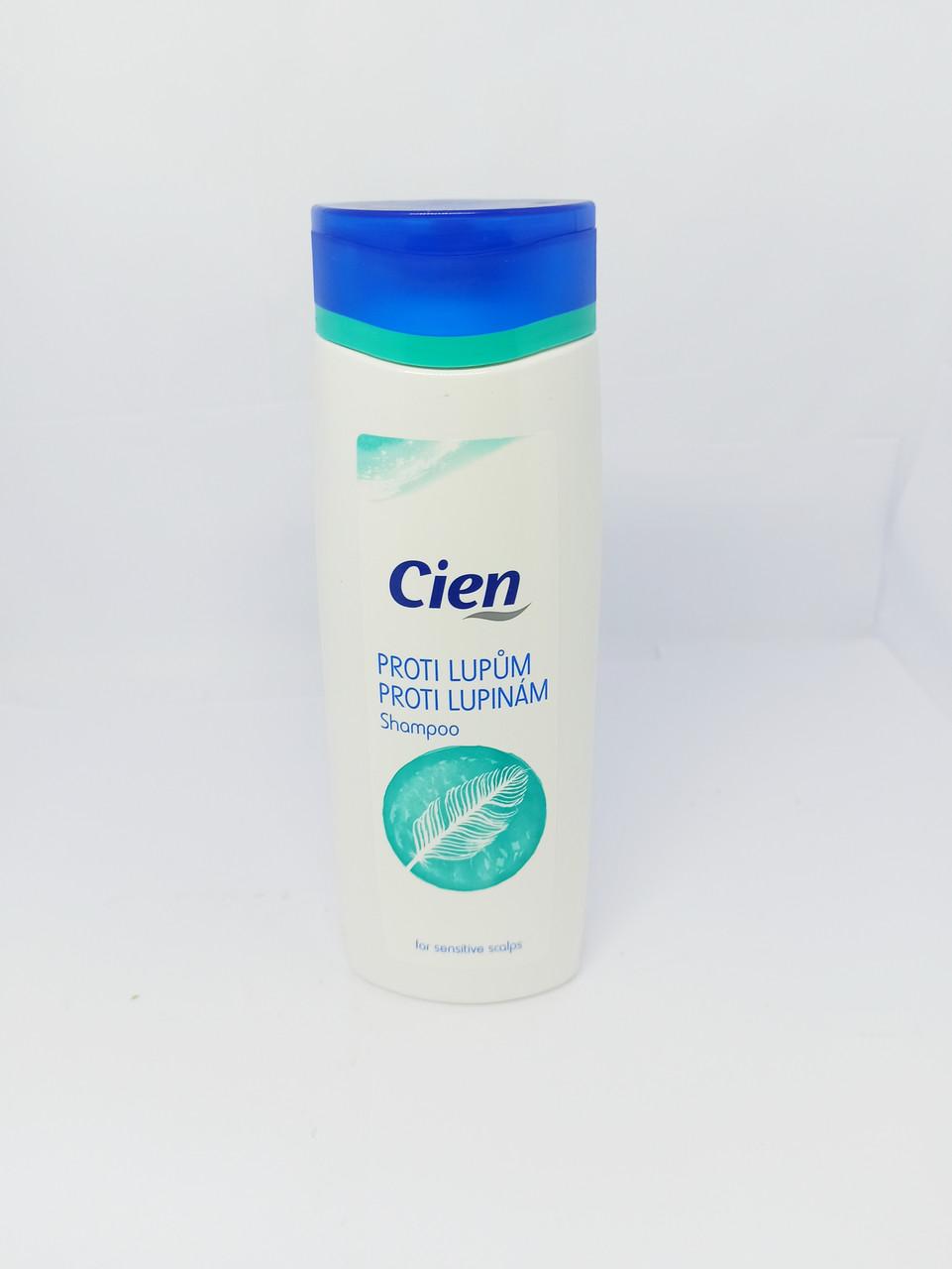 Шампунь від лупи для жирного волосся Cien Anti-Schuppen 300мл