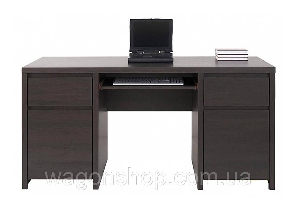 """Комп'ютерний стіл BIU 2D2S 160 """"Каспіан"""" BRW"""
