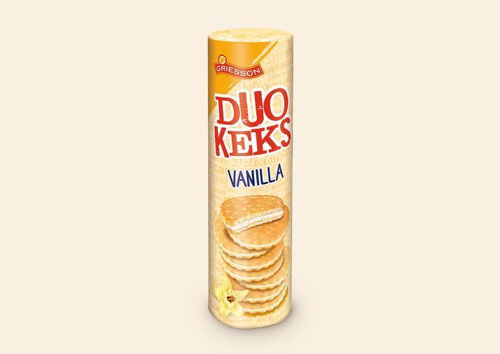 Печиво Duo Keks Vanilla Griesson 500 м (Німеччина)