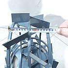 Колеса с грунтозацепами 400/150(Полоса 4*15) МБ с полуосью 32мм (3мм толщ пластины) Булат, фото 5
