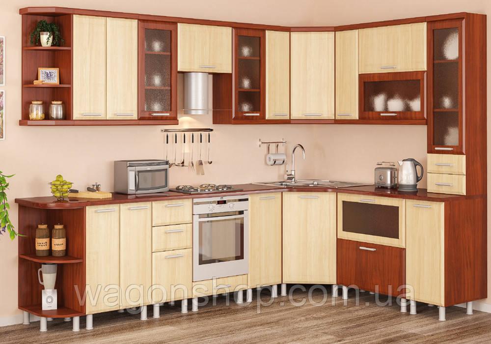 """Угловая кухня """"Терра+"""" Мебель-Сервис"""