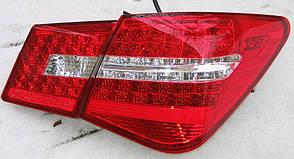 Chevrolet Cruze оптика задняя красная Benz Style