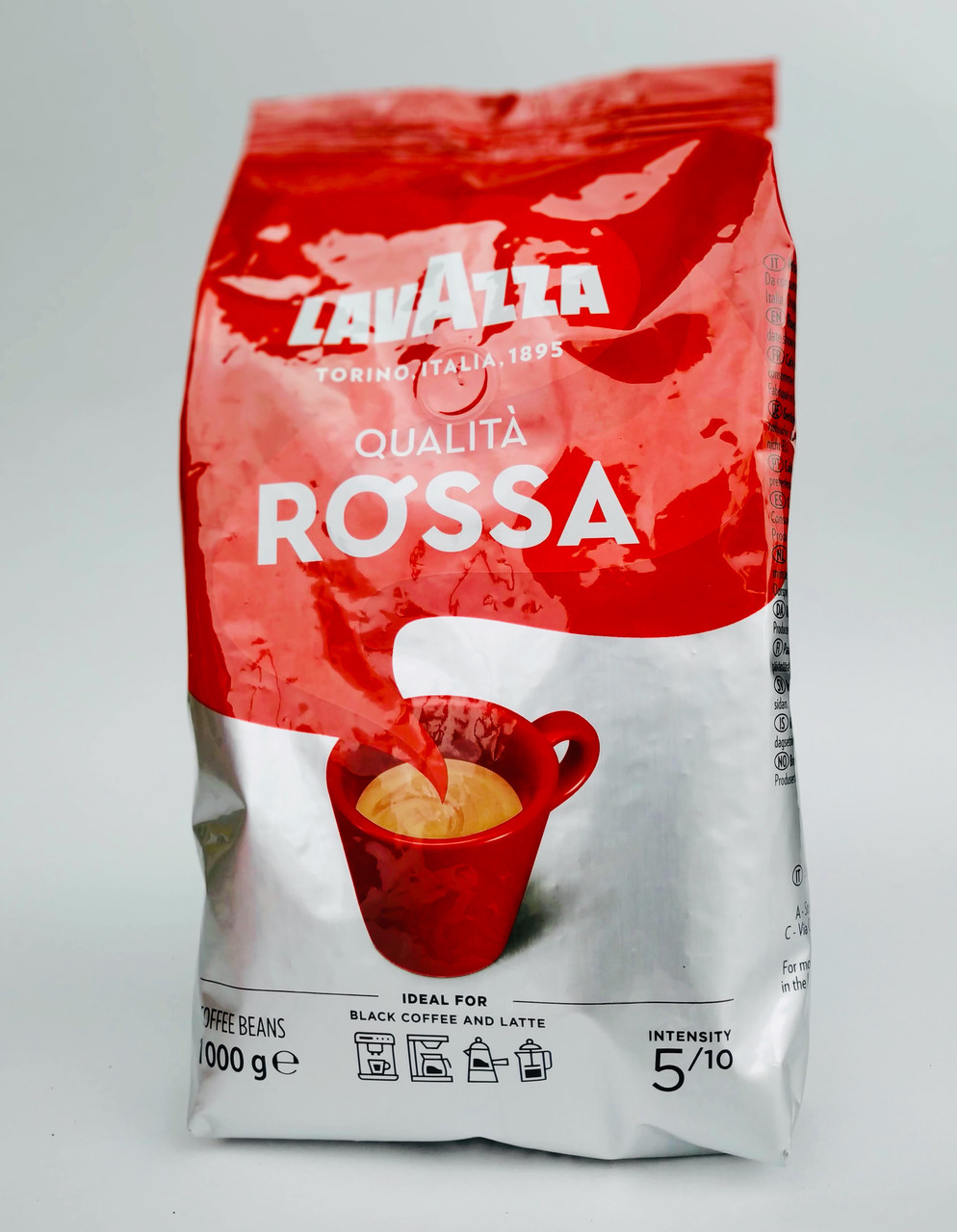 Lavazza Rossa 1кг зерно Оригинал